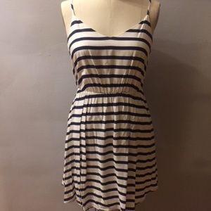 Stripped Sun Dress in women